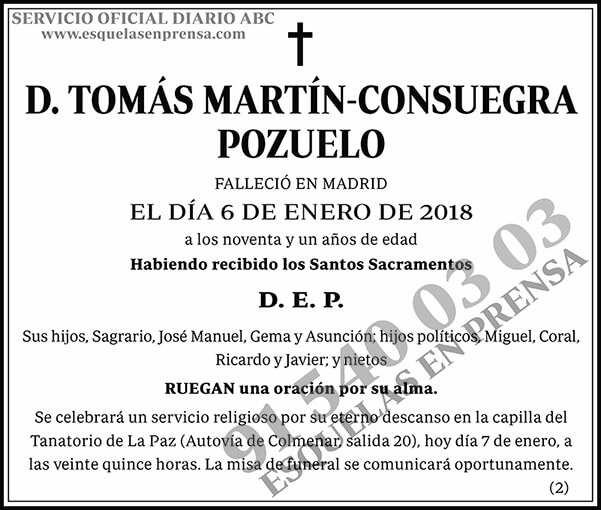 Tomás Martín-Consuegra Pozuelo